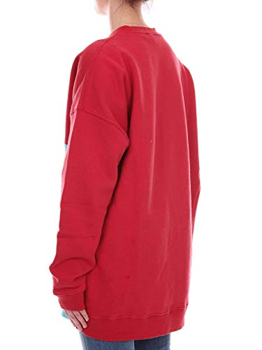 Algodon Rojo High002red Mujer Sudadera Fiorucci qwUCx0X7q