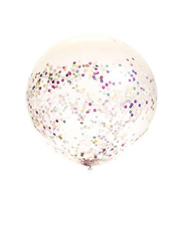 Russ Valley LLC Jumbo Confetti Balloons 36