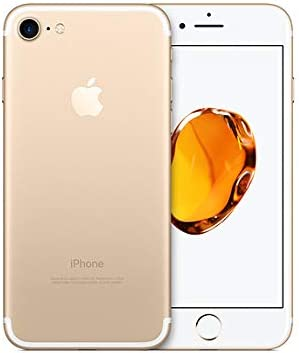 Apple iPhone 7 with FaceTime - 128GB, 4G LTE, Gold - (Renewed)