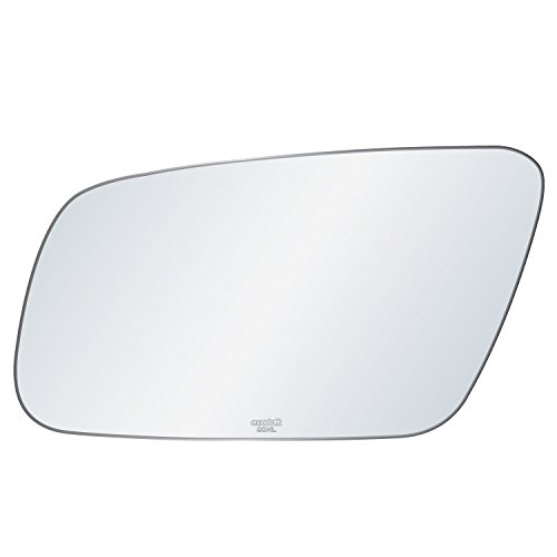 exactafit 8014L Replacement Power Side Mirror Glass Lens fits Driver's Left Hand LH for Audi A4 A6 A8 S4 S6 S8 Quattro by Rugged (Power Left Hand Side Mirror)