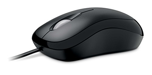 Microsoft Basic Optical Mouse - Black - Mouse Wheel Pc Optical