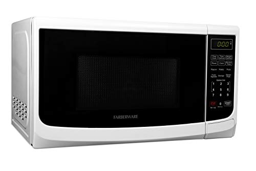 Farberware FMO07ABTBKA 700-Watt Microwave Oven, 0.7 cu. ft, Black