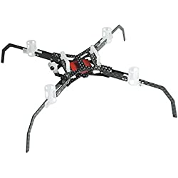 Microheli Delrin/Carbon Fiber Quadcopter Kit - BLADE NANO QX 2 FPV