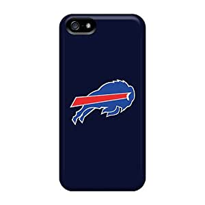 Bumper Cell-phone Hard Covers For Iphone 5/5s With Provide Private Custom Stylish Buffalo Bills Skin InesWeldon