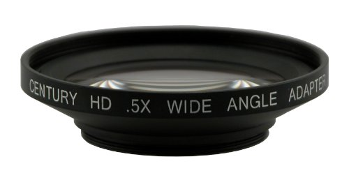 Century .5X HD Wide Angle Adapter, 43mm ()