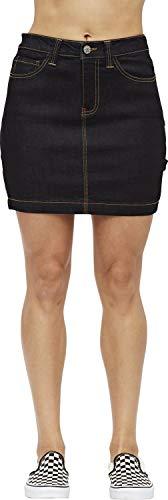 Dickies Girl - 5 Pocket Carpenter Skirt, Size: 15, Color: Dark - Dickies Womens Skirt