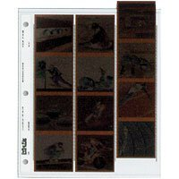 Print File 120-3HB Archival 120 Negative Preservers for 3 ring binder  by Print File