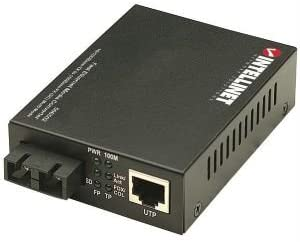 100Base-FX Multimode to 100Base-TX Fast Ethernet Media Converter SC