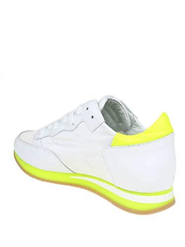 Zapatillas Philippe Trldnv02 Model Mujer Cuero Amarillo YgUwOz4RW