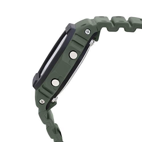 G-Shock Mens Quartz Watch, Digital Display and Resin Strap - DW-5610SU-3DR
