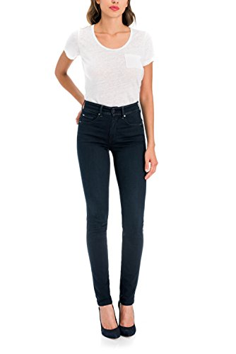 Pantalones In Glamour Salsa Secret Slim Soft Push Touch Azul FP7wpwdqx