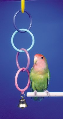 Penn Plax PP90281 Bird Life Super Olympic Rings & Bell Penn Plax Bell