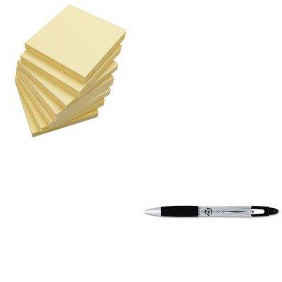 KITUNV35668ZEB22410 - Value Kit - Zebra Z-Grip MAX Ballpoint Retractable Pen (ZEB22410) and Universal Standard Self-Stick Notes (Zeb22410 Zebra)