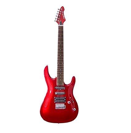Aria MACR - Guitarra, color rojo: Amazon.es: Instrumentos musicales