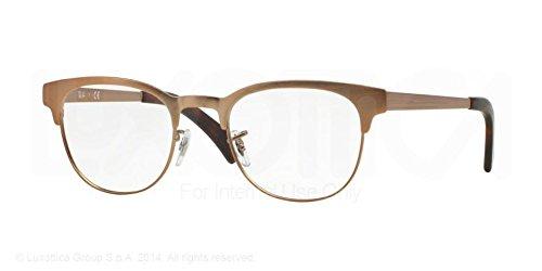 Ray-Ban Eyeglasses RX6317 2836 Matte Brown 49 20 - Ban 6317 Ray