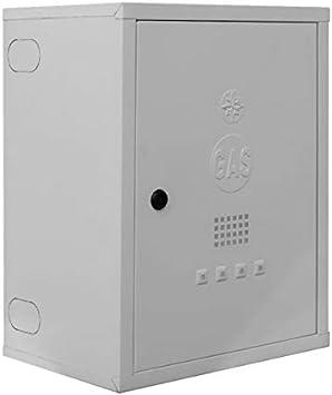 Caja para contador de gas de acero prepintado blanco - Art. 065B - TECNOMETAL: Amazon.es: Bricolaje y herramientas