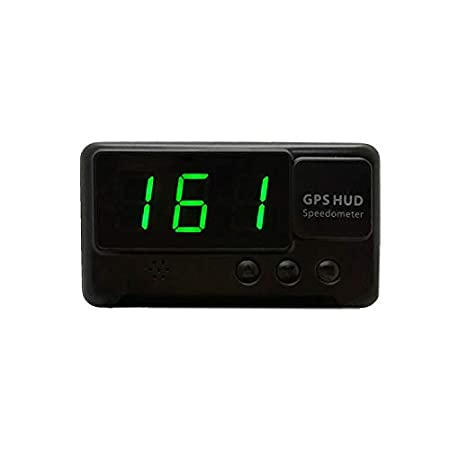 Modow Original Digital Universal Auto HUD Head-Up Display GPS Tacho,Black