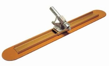 Kraft Tool Laminated Canvas-Resin Bull Float 48''x 7'' w/Double Action Bracket. by Kraft Tool