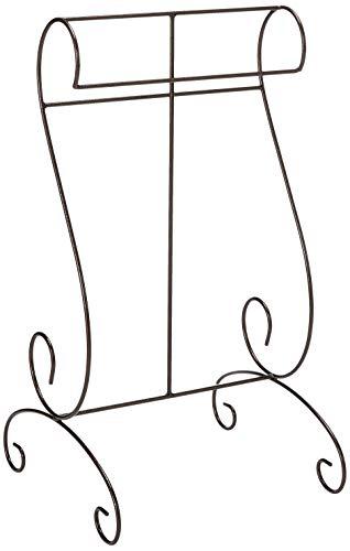 J&J Wire Quilt/Blanket Holder, Bronze (Iron Rack Blanket)