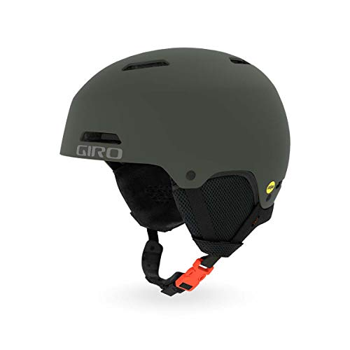 Giro Crue MIPS Kids Snow Helmet Matte Olive MD 55.5-59cm (Helmet Matte Olive)