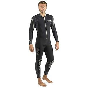 Cressi Men's Front-Zip Full Wetsuit for Water Activities – Bahia & new Bahia Flex