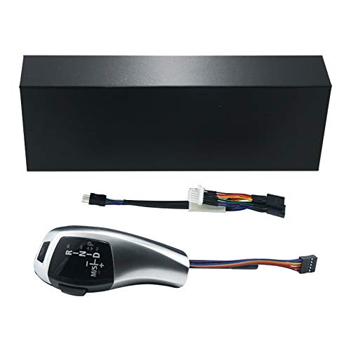 FEELDO Upgrade to LHD LED Electronic Gear Shift Knob for BMW E90 Pre-Facelift & Facelifted/E92 Pre-facelift/E93 Pre-facelift/E87 Facelifted