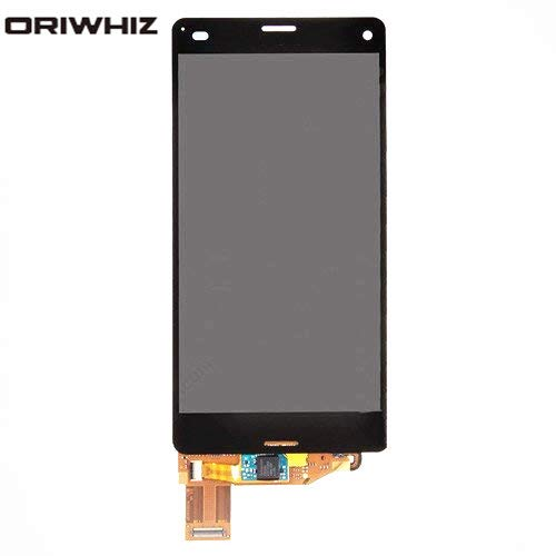 ORIWHIZ LCD Screen +Touch Screen Digitizer Assembly Without Frame Mobile Phone Repair Part for Sony Xperia Z3 Compact D5803(Black)