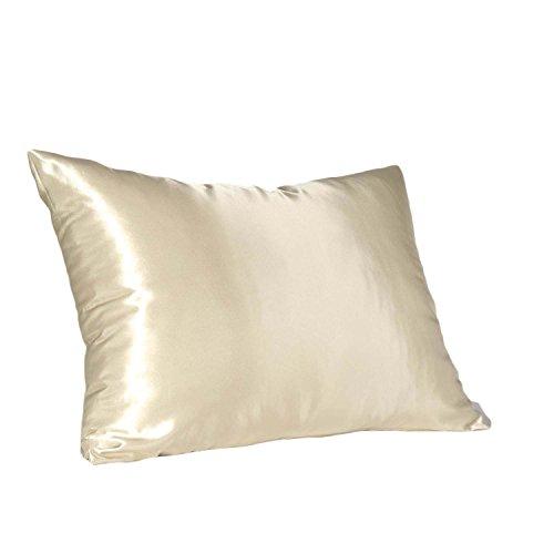 Hidden Zipper Satin Pillowcase, Choice Of Different Color's