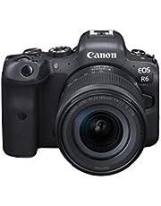Canon EOS R6 Full-Frame Mirrorless Camera + RF24-105mm F4-7.1 is STM Lens Kit, Black (4082C022)
