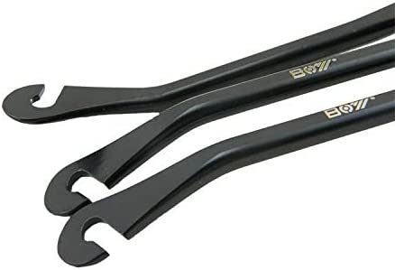 Zuoyou 3Pcs Bike Tire Levers High Strength Carbon Steel Bike Spoon Levers Bicycle Repair Tool Kit