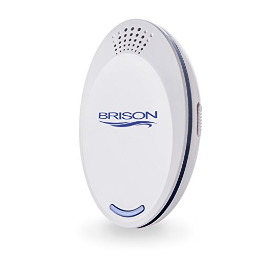 Insects Bed Bugs - BRISON Ultrasonic Pest Repeller Designed Portable Plug-in Control (1-Pack) Electronic Insect Repellent Non-Toxic Gets Rid Mosquito Bed Bugs Roach Spiders Fleas Mice Ants Fruit Fly Indoor&Outdoor