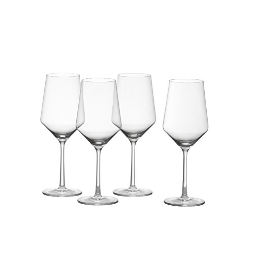 Schott Zwiesel Tritan Crystal Glass Pure Stemware Collection Cabernet/All Purpose, Red or White Wine Glass, 18.2-Ounce, Set of (Merlot White Zinfandel Wine)
