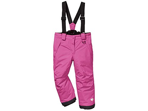 Kleinkinder Mädchen Baby Schneehose Skihose (98/104, pink-kalpli)