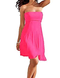 SODACODA Women's 4 in 1 - Beach Cover-up Dress or long Skirt; all colours (S-XL)