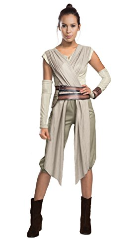 Rey Star Wars Costume Womens (Star Wars The Force Awakens Adult Costume, Multi, Medium)