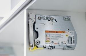 Blum Inc. 20K2500.N5 Aventos HK Lift Mechanism Set - Power Factor - 100 - 174 - Opening Angle - 107°