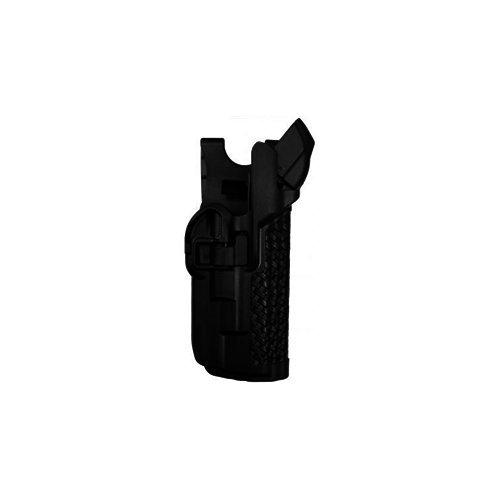 (BLACKHAWK! 44H504FG-L Left Hand Serpa Level 3 Light Bearing Duty Holster)