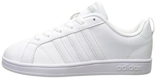 classic styles latest fashion ever popular adidas NEO Advantage VS K Sneaker (Little Kid/Big Kid),White ...