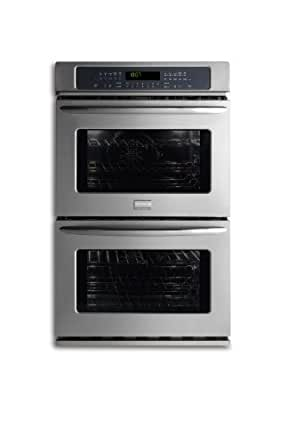 """Frigidaire FGET3065KFGallery 30"""" Stainless Steel Electric Double Wall Oven - Convection"""
