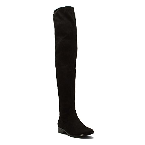Aldo Women's Elinna Riding Boot, Black, 6.5 B US