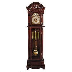 ACME 01430 Plainville Grandfather Clock, Cherry Finish