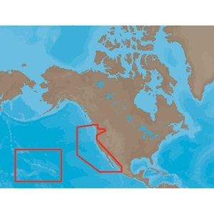 C-card Format Port (C-Map MAX Wide US West Coast & Hawaii SD Card)