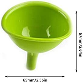 Attrezzo da cucina monopezzo in silicone Imbuto Cubo di ghiaccio fai da te Imbuto al cioccolato Perdita di olio in silicone multifunzionale