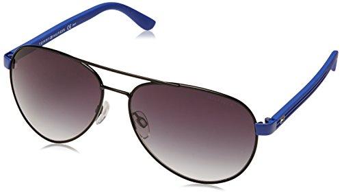 Tommy Hilfiger 1325/S Mens Sunglasses - Black Blue/Gray Gradient / One - Blue Gray Gradient
