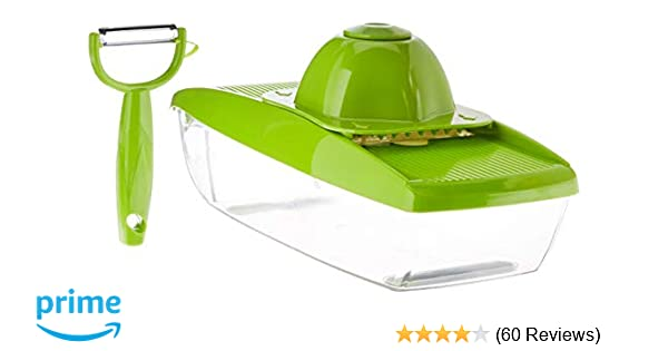 ZX-HOME COMINHKPR139646 Vegetable Grater Large Green mieres