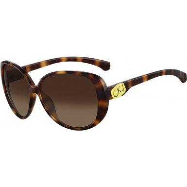 Calvin Klein Jeans CKJ726S-202 Warm Tortoiseshell CKJ726S Sunglasses