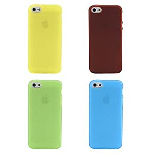 Matting Style Soft Case for iPhone 5/5S (Assorted Colors) , Purple