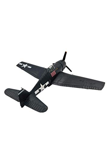 (1:72 Scale Grumman F6F Hellcat Fighter Aircraft Alloy Model for Collection Gift Home Office Decoration)