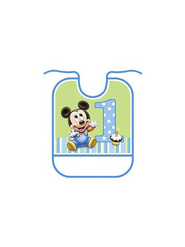 Mouse Birthday Bib - 7
