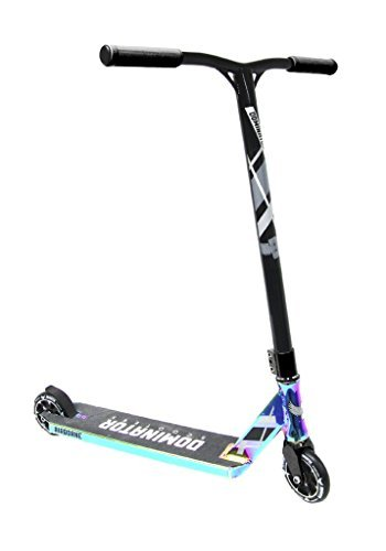 Dominator Airborne Pro Scooter (Neo Chrome/Black) by Dominator Scooteres